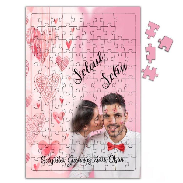 Sevgililer Günü Hediyesi Fotoğraf Baskılı 240 Parça Puzzle