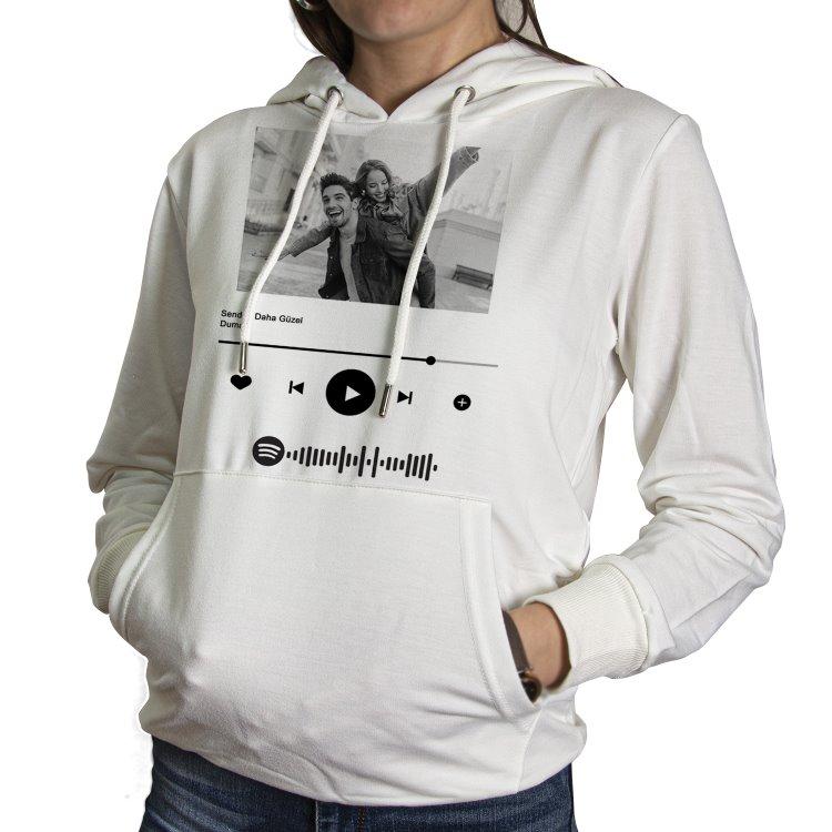 Spotify  Kapşonlu