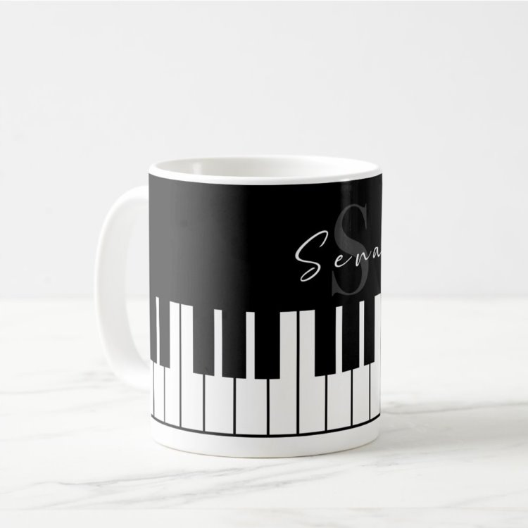 İsme Özel Piyano Kupa
