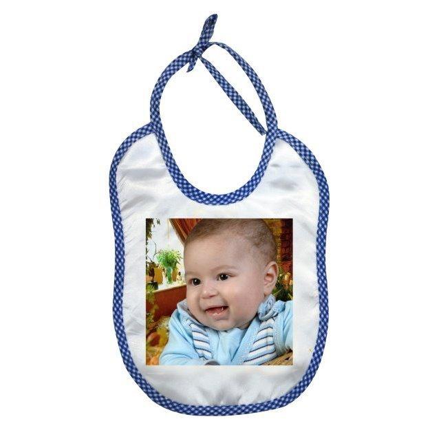 Fotoğraflı Erkek Bebek Önlüğü